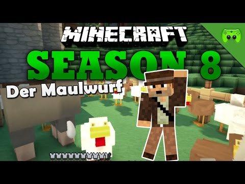 DER MAULWURF «» Minecraft Season 8 # 32 | HD