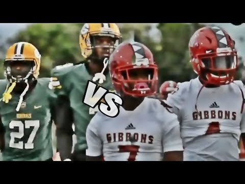 Miami Jackson vs Cardinal Gibbons | High School Football Highlights