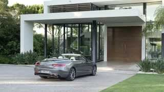Mercedes-Benz S 500 Cabrio Design Video - 2016