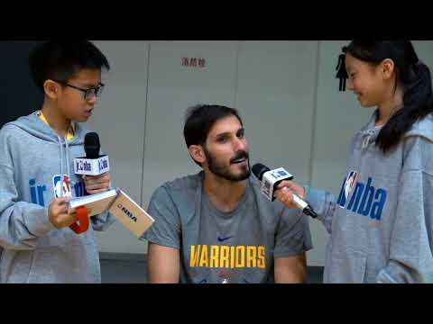 KID REPORTERS WITH OMRI CASSPI