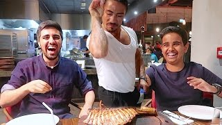 Today World's Famous Chef Nusret #SaltBae gave us food and had a great time there with my friends. Rashed's Youtube Channel: ...
