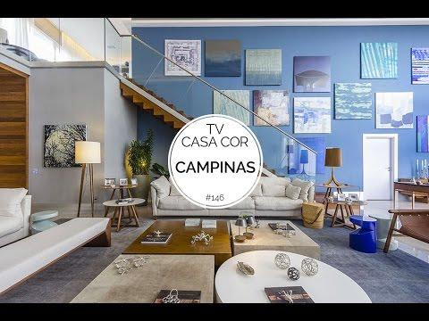 TV CASA COR em Campinas: mostramos para você ambientes do evento que ocorre até este domingo (15)