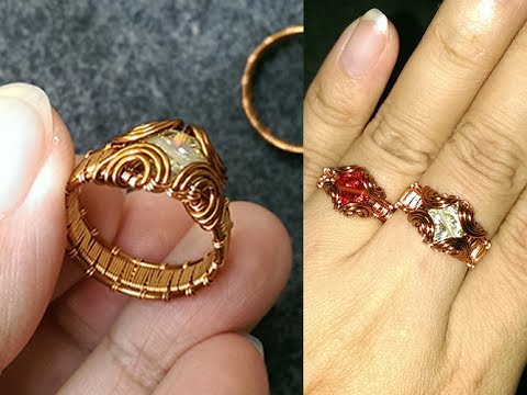 How to make prong ring with facet stone - Handmade Jewelry Tutorials 247