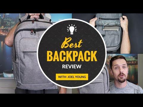 Best Backpack For Your Laptop - Tigernu Slim Laptop Backpack Review