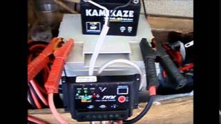 電子工作パルス発生装置でバッテリー再生 15 0718
