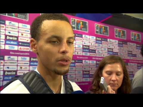 Video: Steph Curry On Moving Forward in FIBA World Cup