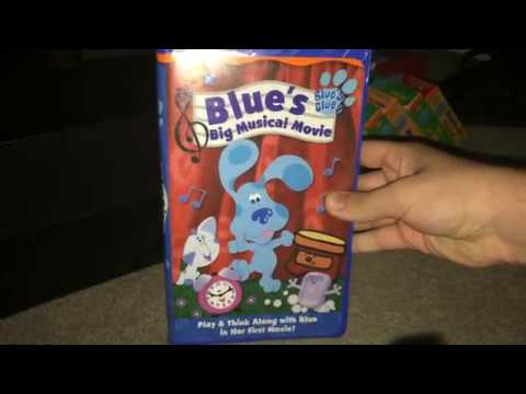 My Blue's Clues VHS and DVD Collection (Summer 2017 Edition)