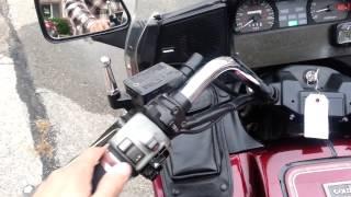 9. 86 Honda GL1200 Goldwing Interstate & 06 Suzuki S40 Boulevard