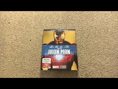 Iron Man Blu-Ray Unboxing