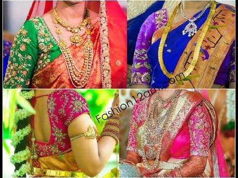 Video Designer blouses for pattu sarees - Kanchipuram Silk Sarees download in MP3, 3GP, MP4, WEBM, AVI, FLV January 2017