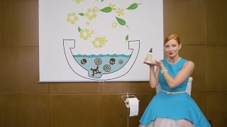 YES Poo~Pourri is a real product, and YES it really works—guaranteed! You can buy it at PooPourri.comPOO~POURRI TOILET DEODORIZERSLet's face it. Poop happens—and it stinks. Relieve yourself from bathroom anxiety in ANY situation with Poo~Pourri. Poo~Pourri is the ORIGINAL Before-You-Go Toilet Spray that removes the worry from pooping. With Poo~Pourri, YOU'RE in control and free to GO anywhere!HOW IT WORKSWhen you spray Poo~Pourri into the bowl BEFORE-you-go, our proprietary formula creates a protective barrier on the water's surface that traps odors beneath the surface and keeps them out of the air. All you'll smell is a refreshing bouquet of essential oils! IT'S ONLY NATURALPoo~Pourri does more than just improve air quality— it's environmentally friendly. Our secret blends use essential oils to eliminate bathroom odors, making it safe for the planet and your septic systems.UNCONDITIONAL STINK-FREE GUARANTEESound too good to be true? We're so sure you'll love it, we even offer an unconditional money back STINK-FREE GUARANTEE. Go ahead… join millions of happy customers who've tried Poo~Pourri for fun and keep using it because it really works!For press inquiries email press@poopourri.comCREDITS:Director: Nicole StoryWriter: Nicole StoryProducer: Tess KellyDirector of Photography: Tel StewartProduction Company: Number Two ProductionsPoo~Pourri CEO: Suzy BatizProduction Designer: Kee MillerSound Design: Tim SikoraHair & Make-up Artist: Anna K FindlayWardrobe Stylist: Anna K FindlayPoo~Pourri Girl: Bethany WoodruffPost Production Supervisor: Zak CiottiEditor: BoldrushArt Director: Lindsey JuckemAnimation: BoldrushSet Construction: 3 Sixty SceneryCAST:Presenter: Charla CochranCoworker 1: Damarr JonesCoworker 2: Talitha HanksCoworker 3: Todd MerrillCoworker 4: Rebekah LawCoworker 5: Bryan Dayley