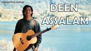Video DEEN ASSALAM FINGERSTYLE ACOUSTIC GUITAR D.AW #tutorial MP3, 3GP, MP4, WEBM, AVI, FLV November 2018