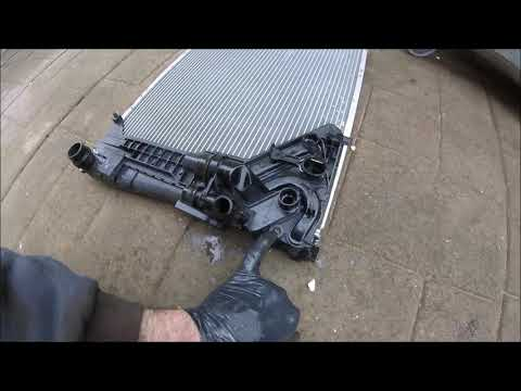 2000 BMW 318i E46 Radiator Replacement