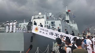 A fleet of Chinese warships led by China's first aircraft carrier Liaoning arrived in Hong Kong Special Administrative Region (SAR) on Friday morning, as part of ...