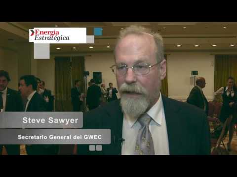 Steve Sawyer: «Argentina tiene los mejores recursos eólicos quizás en todo el mundo»