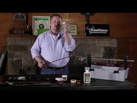 Traditions Firearms - How to Clean Your Traditions Bolt Action Muzzleloader