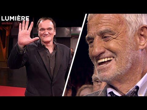LUMIÈRE archive / 2013 / Quentin Tarantino et Jean-Paul Belmondo