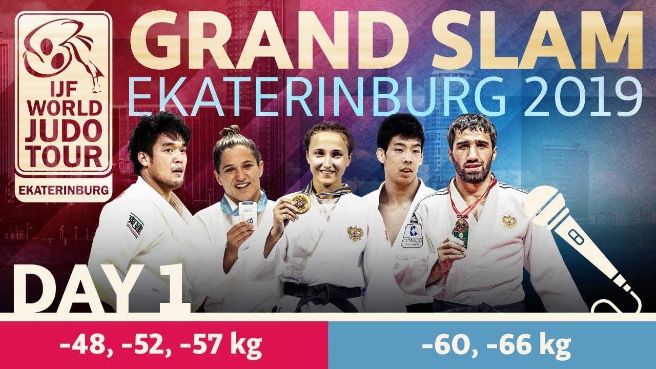Judo Grand-Slam Ekaterinburg 2019: Day 1