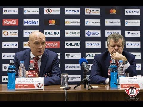 Автомобилист - СКА: Пресс-конференция, 19.09.2016
