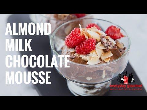 Almond Milk Chocolate Mousse | Everyday Gourmet S7 E10