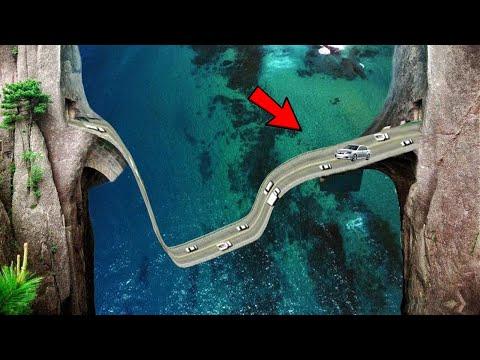 दुनिया की 06 सबसे खतरनाक सड़क भूल कर भी मत जाना वरना |  06 Roads You Would Never Want to Drive On