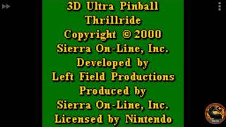 3D Ultra Pinball Thrillride: Normal (Game Boy Color Emulated) by omargeddon