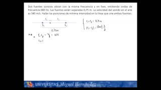Umh1148 2013-14 Lec005b Problema Interferencias. Oscilaciones Y Ondas