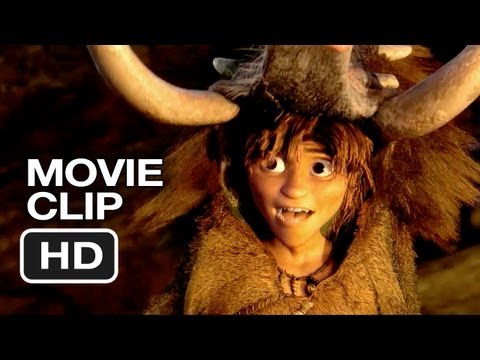 The Croods Movie CLIP - Meet Guy (2013) - Ryan Reynolds, Emma Stone Animated Movie HD Video