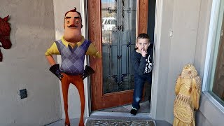 BROKE INTO A STRANGER'S HOUSE! | Hello Neighbor in Real Life