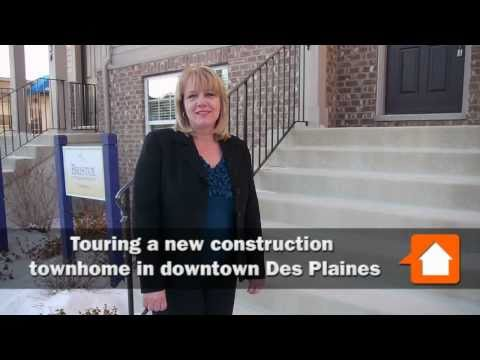 Inside a new Lexington Park townhome in downtown Des Plaines