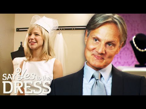 Monte Gets All Bubbly When Bride Asks For A Jackie O Dress Style | Say Yes To The Dress Atlanta
