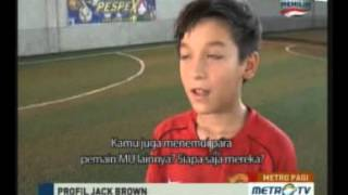 Jack Brown's profile, The World Skill Winner Manchester United Soccer School 2012