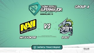 Natus Vincere vs Spirit, Super Major, game 2 [Lex, 4ce]