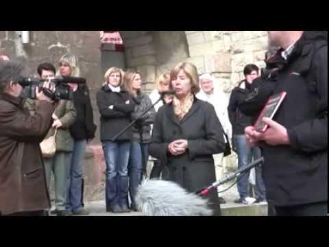 Nordhausen – 03.04.2012 – Gedenkveranstaltung anläßlich der Bombardierung Nordhausens