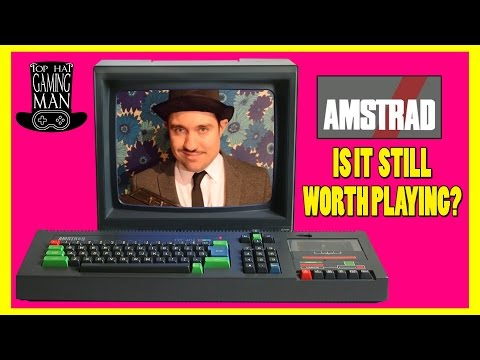 Amstrad CPC 464 Review and History- Is this Computer Still Worth Playing Today? - Top Hat Gaming Man