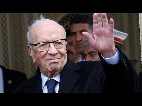 Tunesien: Beji Caid Essebsi, erster demokratisch gewäh ...