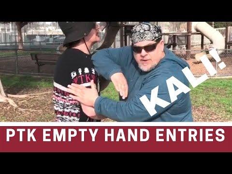 Kali empty hands - 3 offensive entries