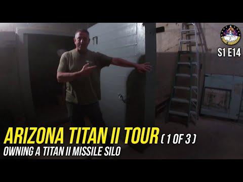S1E14 - Arizona Titan II Tour (1of3) - Owning a Titan II Missile Silo