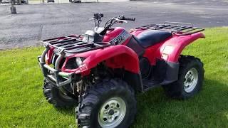 10. Yamaha Grizzly 2002 660 Atv Four Wheeler Quad For Sale