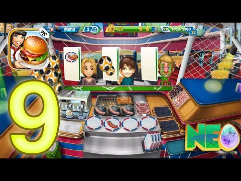 Cooking Fever: Gameplay Walkthrough Part 9 - Sports Bar Level 1-5 (iOS, Android)