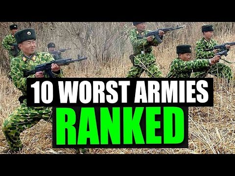 10 Worst Armies in the World