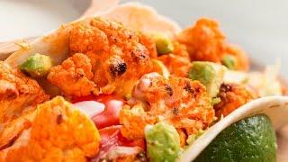 Buffalo Cauliflower Tacos by Tasty