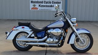 2. $5,199:  For Sale 2009 Honda Shadow 750 Aero Blue Silver Overview and Review