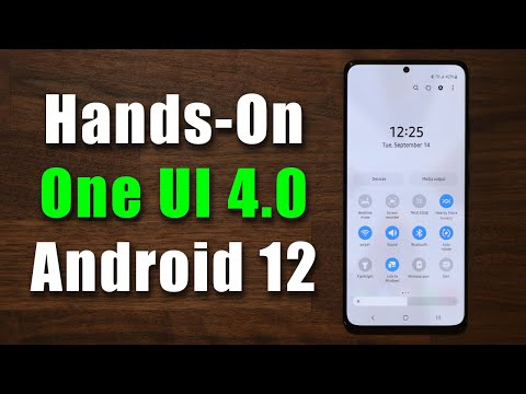 Samsung ONE UI 4.0 Beta - 50+ New Features and Changes!