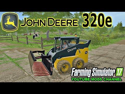 John Deere 320e skidsteer v1.0