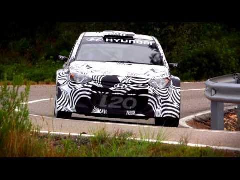 Hyundai i20 WRC - tarmac test