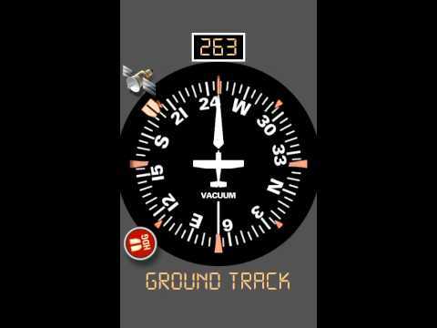 Video of Aircraft Compass Free
