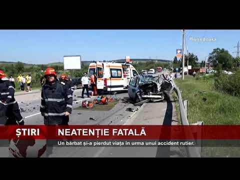 Accident mortal în Hunedoara