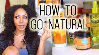 How to Go Natural | Beginners - YouTube