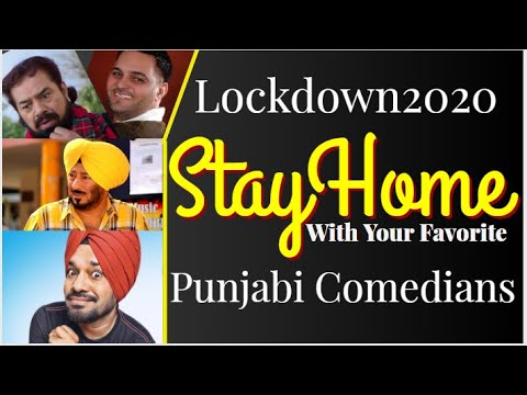 Lockdown2020   #StayHome with your Favorite Comedians #Jaswinder Bhalla #BNSharma #Ghuggi #Gurchet